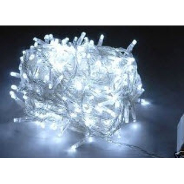 Led Christmas Lights White.25m 300 Led Christmas Fairy Lights White Clear Cable