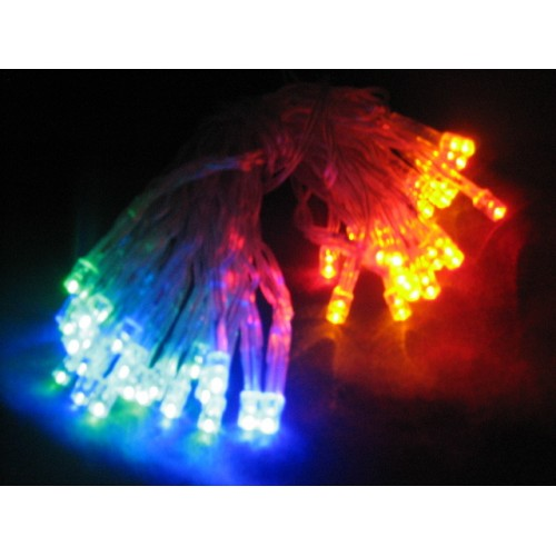 6M 60 LED Battery Powered Fairy Lights - Multi