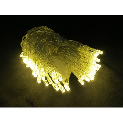 6M 60 LED Battery Powered Fairy Lights - Warm White