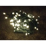 29.9M 300 LED Fairy Solar Lights - Warm White (Green Cable)