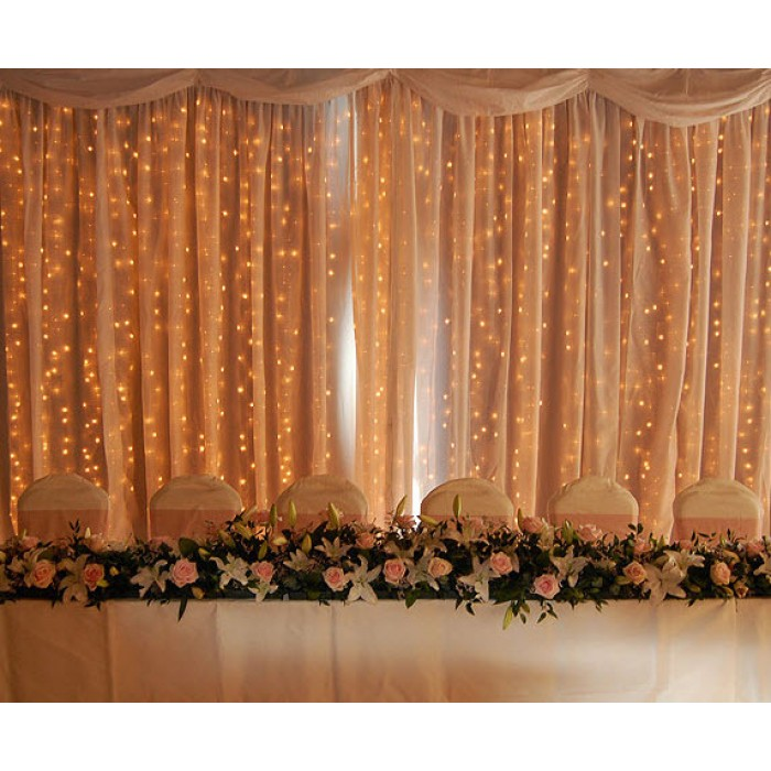 180 LED Christmas Wedding Curtain Lights