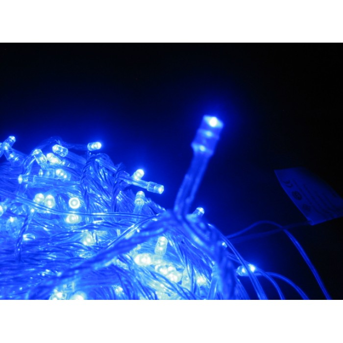 25m 500 led christmas icicle lights blue - Led Christmas Icicle Lights