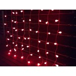 Colour Changing Curtain Lights - 112LED  (Clear cable) Christmas Party Lights