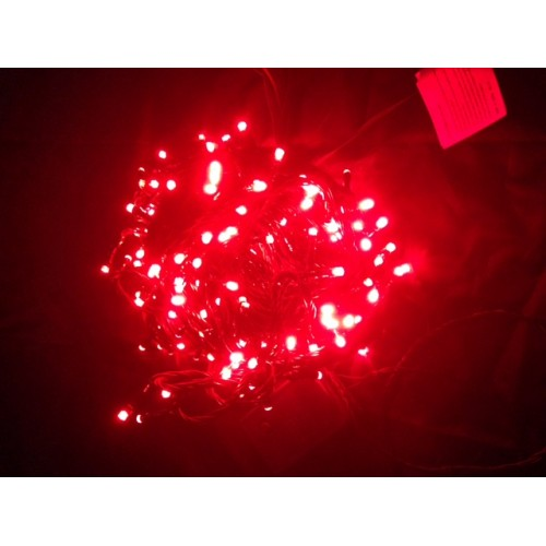 30M 292 LED  Christmas Fairy Lights - Red Colour (Green Cable)