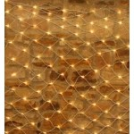 169 LED Christmas & Wedding Net Light - Warm White (2.5M X 2.5M)