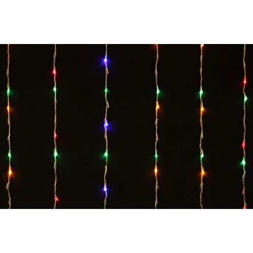 Curtain Light Waterfall Function 480LED - Multi Colour