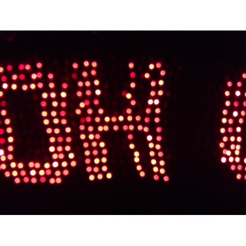 1280 LED Programmable Net Light RED Colour - Create Your Own Christmas Messsage Party Sign