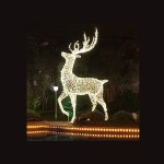 3D Deer Pose 2 – H 2M – Outdoor Large Display Lights