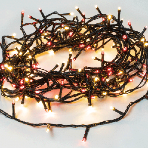 Red and Warm White colour 45.3M 480 LED Christmas Fairy Lights  with Remote control and Connectable