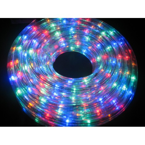 Connectable10M LED Rope Light - Multi Colour