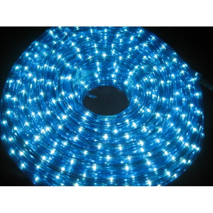 10m led rope light blue and white aloadofball Choice Image
