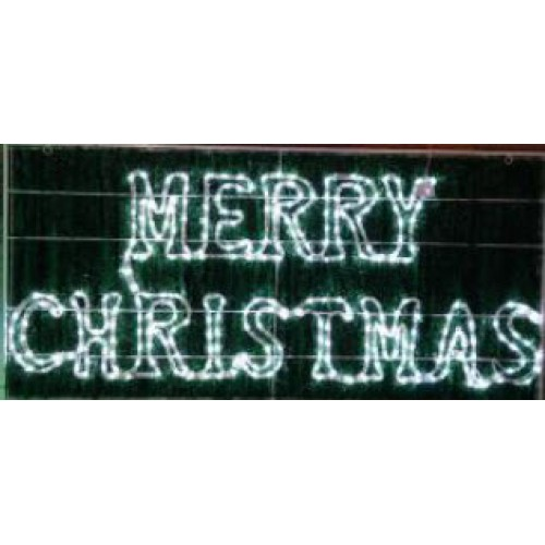 MERRY CHRISTMAS 150cmx71cm with Twingle Effect