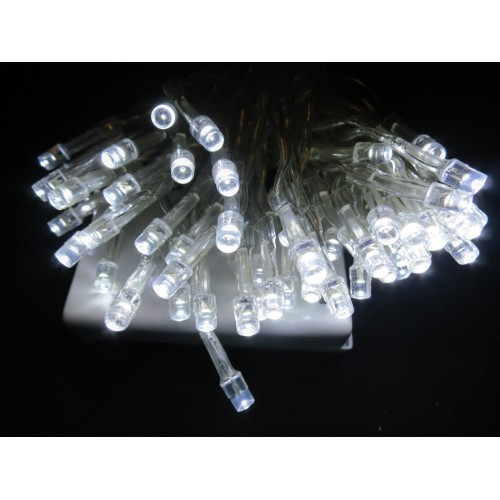 Bulk 5* 4M 40 LED Battery Powered Fairy Lights -  White