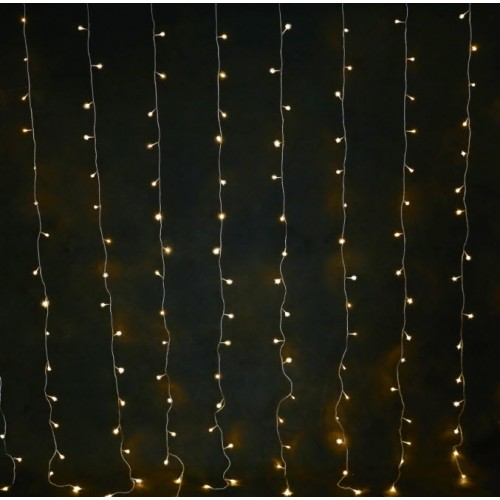Curtain Light - Warm White - 2m x 2m (Connectable)