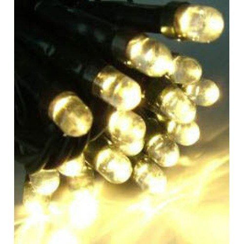 17M 300LED Solar Fairy Lights - Warm White Colour