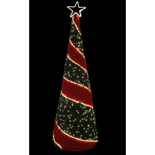3m Christmas Cone Tree – Outdoor Large Display Lights