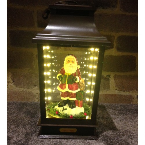 40 CM Santa Claus Lamp Toy Ornament Music and Led