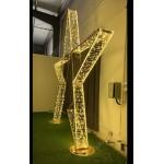 Large Standing Star - H 4M - Festival Christmas Display Lights