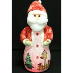40 Inch Santa ClausToy Ornament Music and Led Snow fall