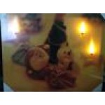 50cm x 40cm LED (Santa and Snow Man)  Light up Canvas / Picture Frame/ Christmas Decoration