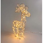 Micro LED Dual Color Standing Reindeer - Christmas Decorative lights