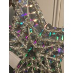 50cm LED 3 Layer Stars Multi Colour