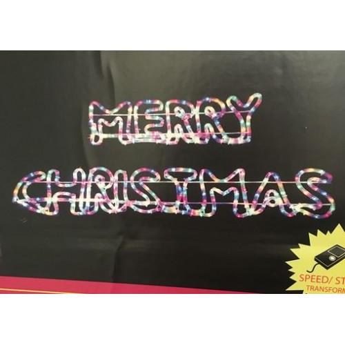 MERRY CHRISTMAS LED MOTIF Multi Colour