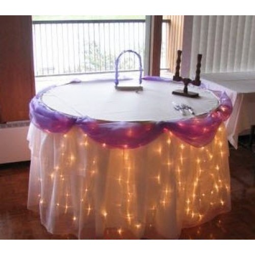 180 LED Table Curtain Lights - Warm White (7.2M * 1M)
